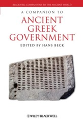 A Companion to Ancient Greek Government - eBook