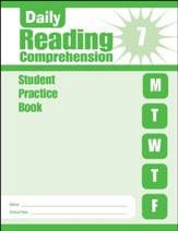 Daily Reading Comprehension, Grade 7 Student Workbook