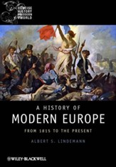 A History of Modern Europe: From 1815 to the Present - eBook