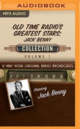 Old Time Radio's Greatest Stars: Jack Benny Collection, Volume 1 on MP3 CD (OTR)