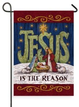 Jesus is the Reason Flag, Small