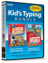 Kid's Typing Bundle CD-ROMs