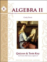 Algebra 2 Quizzes & Tests Key