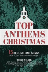 Top Anthems Christmas, Choral Book