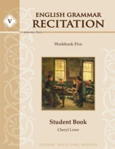 English Grammar Recitation Workbook Five Student Book  - Slightly Imperfect