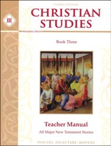 Christian Studies 3 Teacher's Manual  (3rd Edition)