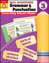 Skill Sharpeners: Grammar and Punctuation, Grade 3