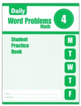 Daily Word Problems, Grade 4 Student  Workbook
