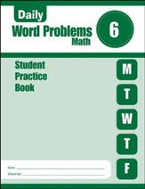 Daily Word Problems, Grade 6 Student  Workbook