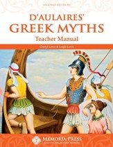 D'Aulaires' Greek Myths, Teacher Guide, Second Edition