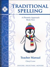Traditional Spelling Book 2 Teacher Manual