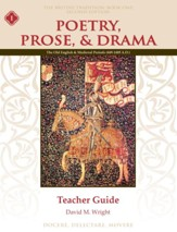 Poetry, Prose, & Drama Book 1 Teacher Guide (2nd Edition)