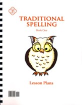 Traditional Spelling I Lesson Plans