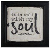 It Is Well with My Soul Box Sign