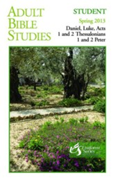 Adult Bible Studies Student Book Spring 2013 - Regular Print Edition - eBook