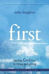 first Youth Study: putting GOD first in living and giving - eBook