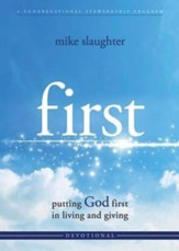 first - Devotional: putting GOD first in living and giving - eBook
