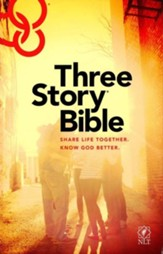 NLT: Three Story Bible, hardcover