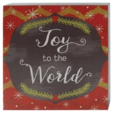 Joy to the World Box Wall Sign