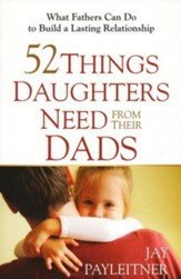 52 Things Daughters Need from Their Dads: What Fathers Can Do to Build a Lasting Relationship - eBook