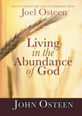 Living in the Abundance of God - eBook