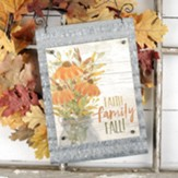 Faith Family Fall Metal Hanging Sign