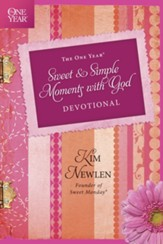 The One Year Sweet and Simple Moments with God Devotional - eBook