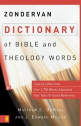 Zondervan Dictionary of Bible and Theology Words - eBook