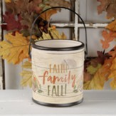 Faith Family Fall Ceramic Crock, for any use, Small