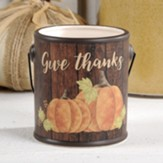 Give Thanks Ceramic Crock, for any use