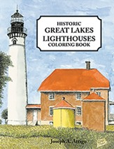 Historic Great Lakes Lighthouses Coloring Book