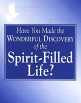The Spirit-Filled Life, pack of 25 tracts
