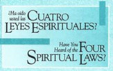 ¿Ha oido usted las cuatro leyes espirituales? 25 tratados   (Have You Heard of the Four Spiritual Laws? 25 Tracts)