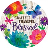 Grateful, Thankful, Blessed Magnet