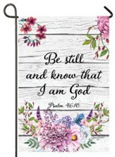 Be Still and Know That I Am God Flag, Small