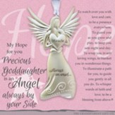 Angel Precious Goddaughter Ornament