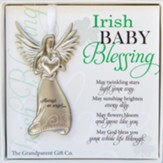 Angel Irish Baby Blessing Ornament