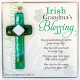 Cross Irish Grandma's Blessing Ornament