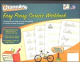 Channie's Easy Peasy Cursive Workbook Pad