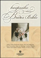 HCSB Bride's Bible White with Gold
