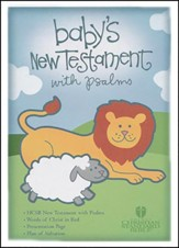 HCSB Baby's New Testament with Psalms - Blue
