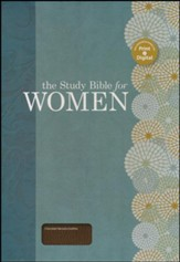 HCSB The Study Bible for Women, Chocolate Genuine Leather