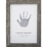 Little Hands, Handprint Framed Art