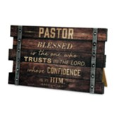 Plaque-Wall/Desktop-MDF-Farmhouse-Pastor