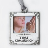 On Your First Communion Photo Ornament