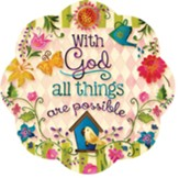 With God All Things Are Possible Stepping Stone