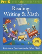 Gifted & Talented: Grade Pre-K Reading, Writing & Math