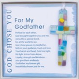 God Chose You For My Godfather Ornament
