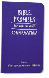 Bible Promises for You on Your Confirmation: from the New International Version - eBook