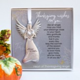 Heart of Thanksgiving Angel Ornament